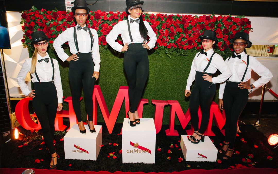 G.H MUMM No 1 Limited edition collection launched in the city of gold.