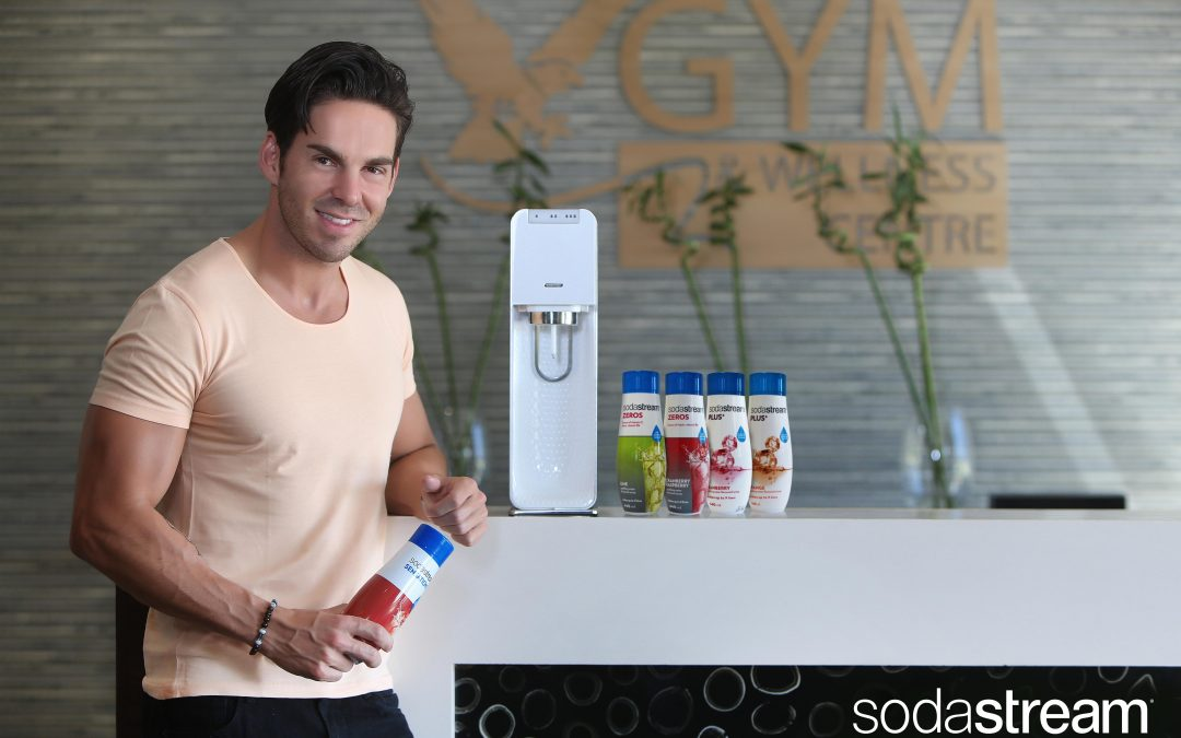 South African Fitness Guru and Model – Brad Jay, announced as SodaStream South Africa's new brand ambassador