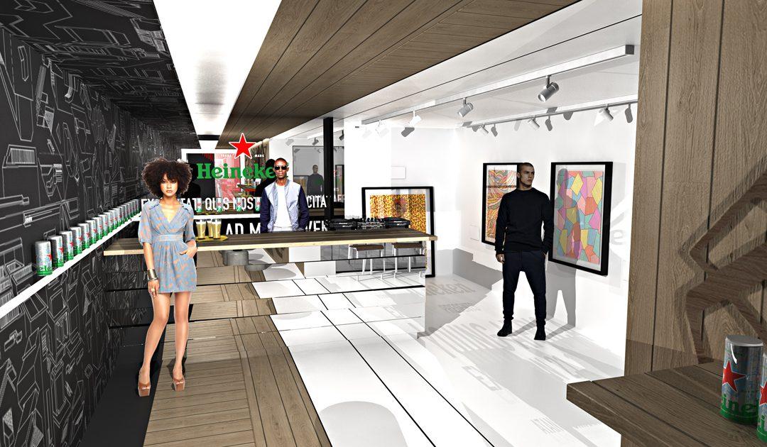 Heineken® launches The Next Level Bar a one-of-a kind creative hub in Joburg