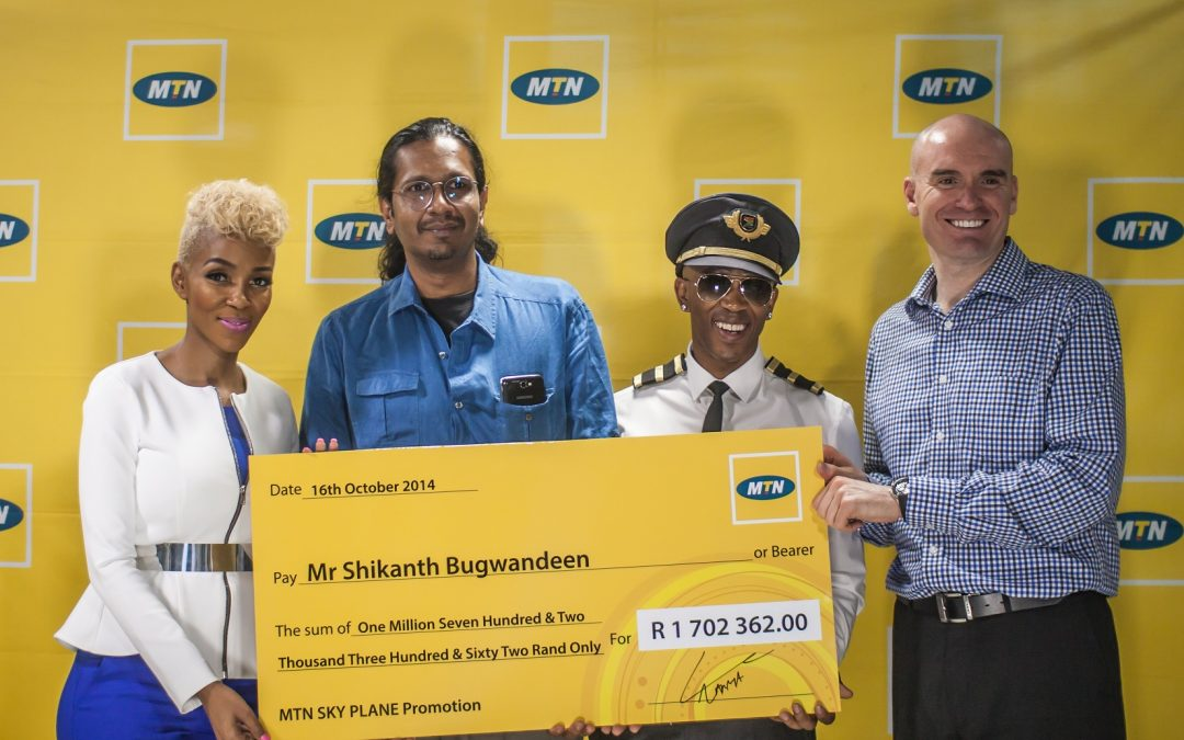 And the MTN SKY competition winner is…