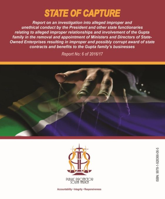 The long Awaited Public Protector's State Capture Report
