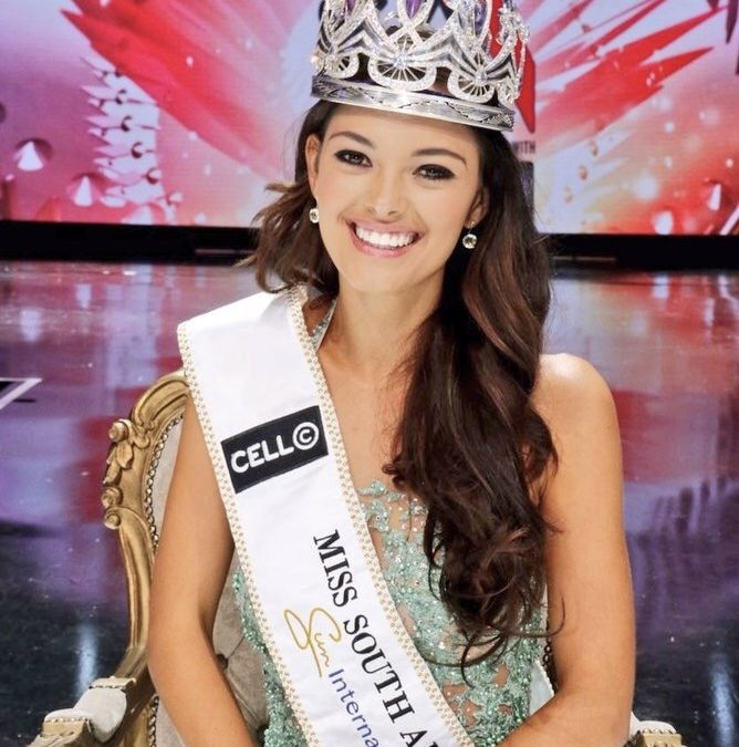 Meet Your New Miss South Africa, Demi-Leigh Nel-Peters 👑